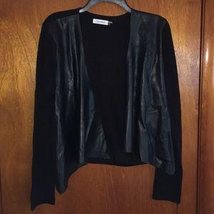 NWT Calvin Klein Black Cardigan Size Large